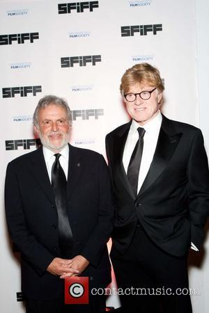 Sid Ganis and Robert Redford