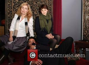Lone Scherfig, Carey Mulligan and Dominic Cooper