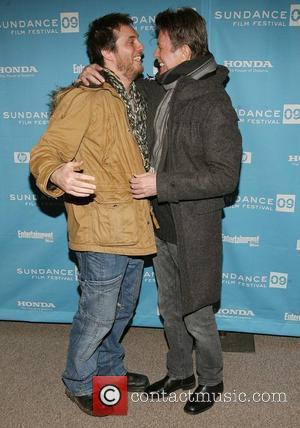Duncan Jones and David Bowie 2009 Sundance Film Festival, Day 9 - screening of 'Moon' at the Eccles Theatre -...