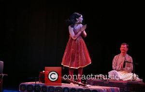 Anoushka Shankar and Ravi Shankar