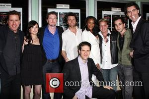 Vivica A. Fox, Shark City Cast Premiere of 'Shark City' at the Regent Showcase Theatre Los Angeles, California - 19.03.09