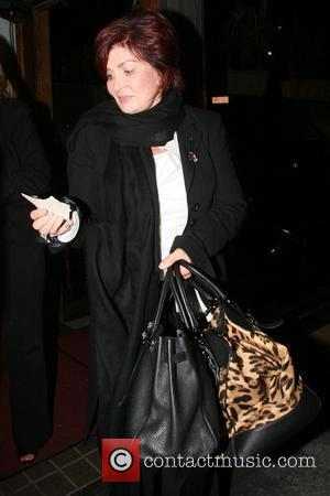 Sharon Osbourne leaving Madeos restaurant in West Hollywood Los Angeles, California - 30.10.08