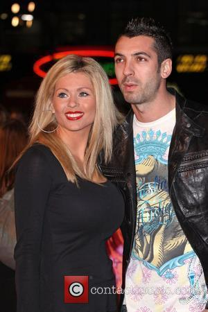 Nicola Mclean with her fiance Tom Williams 'Confessions of a Shopaholic' - UK film premiere held at the Empire Leicester...