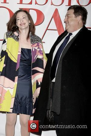 Joan Cusack and John Goodman New York Premiere of 'Confessions of a Shopaholic' at the Ziegfeld Theatre - Arrivals New...