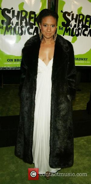 Tracie Thoms Opening Night of the new Broadway Musical 'Shrek' at the Broadway Theatre - Arrivals New York City, USA...