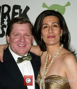 David Lindsay-Abaire, Jeanine Tesori Afterparty for the new Broadway Musical 'Shrek' held at the Plaza Hotel New York City, USA...