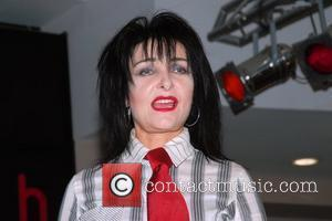 Siouxsie Sioux signs her latest DVD 'Finale: The Last Mantaray and More Show' at HMV Oxford Street London, England -...