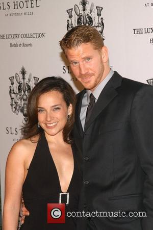 Dash Mihok and guest The Grand Opening of the SLS hotel in Beverly Hills - Arrivals Los Angeles, California -...