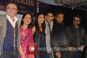 Danny Boyle, Loveleen Tandan, Freida Pinto, Dev Patel, Irfan Khan and Anil Kapoor
