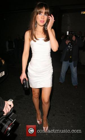 Roxanne McKee arrives at the Crystal club for the British Soap Awards afterparty London, England - 09.05.09