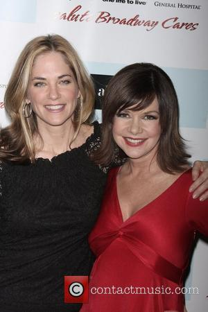 Kassie DePaiva and Bobbie Eakes  5th annual ABC and SOAPnet Salute Broadway cares/Equity Fights AIDS Benefit - held at...