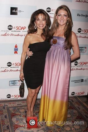 Susan Lucci and guest 5th annual ABC and SOAPnet Salute Broadway cares/Equity Fights AIDS Benefit - held at Marriott Marquis...