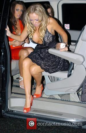Aisleyne Horgan-Wallace arrives at the Newz bar for the launch of Soda club night Liverpool, England - 16.05.09