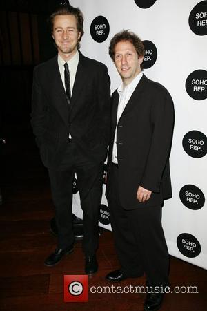 Edward Norton and Tim Blake Nelson Soho Rep Spring Gala 2009 at The Park - Arrivals New York City, USA...
