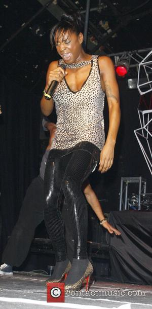 Sonique  preforming live at Heaven to promote her new single 'Better Than That' London, England - 03.11.08
