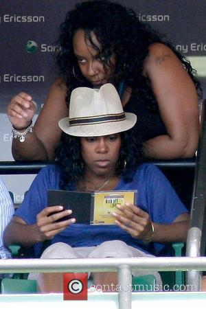 Kelly Rowland and Serena Williams