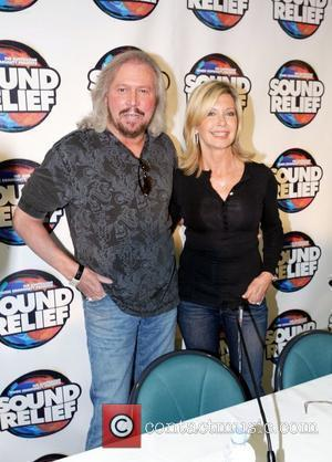 Olivia Newton-john and Barry Gibb