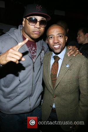 LL Cool J and Kevin Liles Russell Simmons and Spike Lee co-host I AM C.H.A.N.G.E! Get out the Vote party...