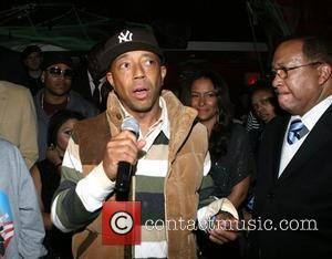 Russell Simmons and Spike Lee