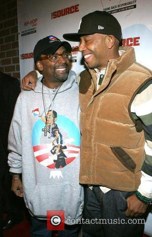 Spike Lee and Russell Simmons