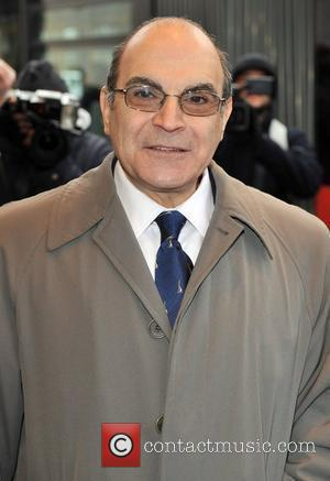 David Suchet South Bank Show Awards held at the Dorchester Hotel- Arrivals London, England - 20.01.09