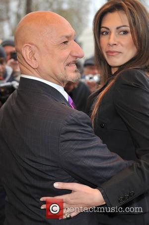 Ben Kingsley and Daniela Barbosa De Carneiro
