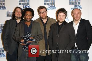 Elbow South Bank Show Awards held at the Dorchester Hotel - Press Room London, England - 20.01.09