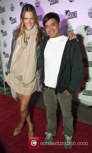 Victoria's Secret Supermodel Alexandra Ambrosio and Jerome Duran  The South Beach Comedy Festival VIP Party held at the Hotel...