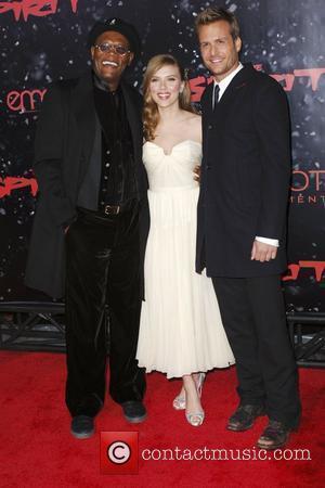 Samuel L Jackson and Scarlett Johansson