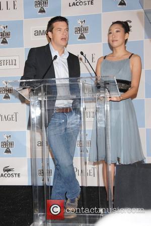 Jason Bateman and Sandra Oh
