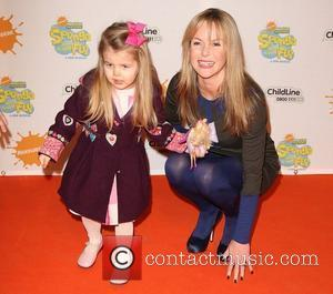 Amanda Holden with her daughter Alexa New musical 'Spongebob Squarepants: The Sponge who could fly' held at the Hammersmith Apollo...