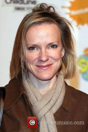 Hermione Norris New musical 'Spongebob Squarepants: The Sponge who could fly' held at the Hammersmith Apollo - arrivals London, England...