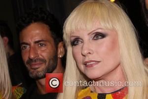 Marc Jacobs and Debbie Harry