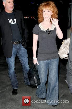 Kathy Griffin arriving at the Staples Center for 'The Circus: Starring Britney Spears Tour' Los Angeles, California - 17.04.09