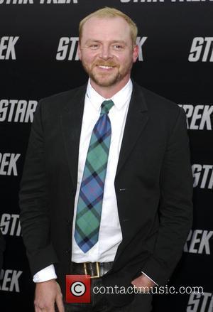 Simon Pegg and Star Trek