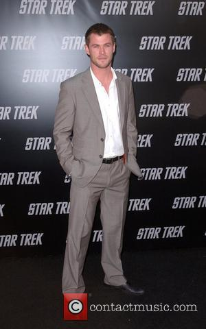 Chris Hemsworth, Star Trek, Grauman's Chinese Theatre