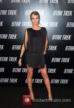 Heidi Klum and Star Trek