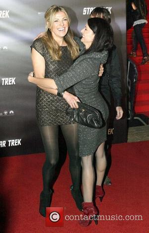 Laura Csortan and Simmone Jade Mackinnon World premiere of J.J. Abrams 'Star Trek' movie held at the Sydney Opera House...