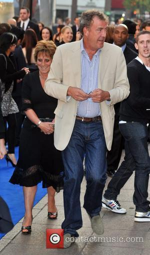 Jeremy Clarkson and wife Frances Cain UK film premiere of 'Star Trek' at the Empire Leicester Square - Arrivals London,...