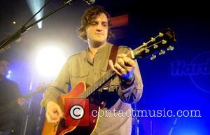 James Walsh of Starsailor  performing at London's Hard Rock Cafe in aid of The Caron Keating Foundation London, England...