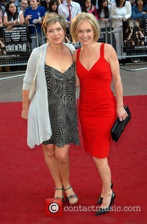 Penny Smith and Mariella Frostrup  State Of Play - UK film premiere held at the Empire Leicester Square London,...