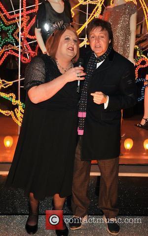 Peter Kay and Stella Mccartney