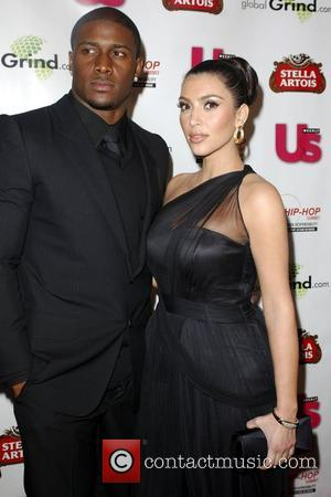 Reggie Bush and Kim Kardashian Stella Artois Presents: Russell Simmon's 'Salute to Grammy Award Nominees' - Arrivals Beverly Hills, California...
