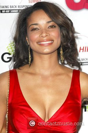 Rochelle Aytes Stella Artois Presents: Russell Simmon's 'Salute to Grammy Award Nominees' - Arrivals Beverly Hills, California - 08.02.09