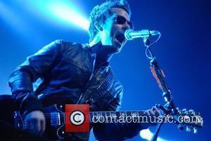 Kelly Jones of Stereophonics  performing live on stage at the Cardiff International Arena. Cardiff, Wales - 06.12.08