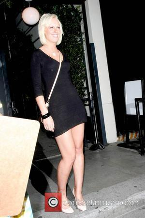 CariDee English leaving the STK 1 Year Anniversary Party in West Hollywood Los Angeles, California - 12.05.09