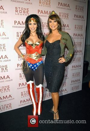 Kim Kardashian and Cheryl Burke