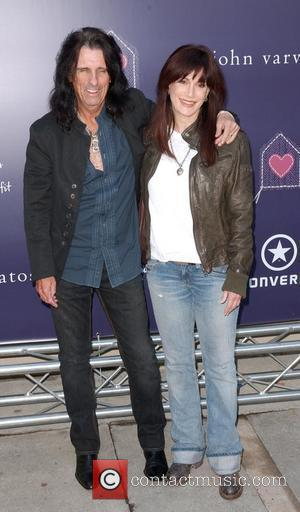Alice Cooper and Sheryl Goddard 7th Annual Stuart House Benefit held at John Varvatos Boutique - arrivals Los Angeles, California...
