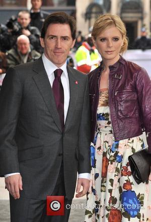 Rob Brydon and Emilia Fox