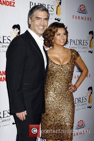 Eva Longoria and Alejandro Fernandez